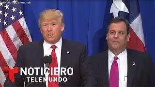 Trump y ex presidente Fox difieren sobre muro en frontera | Noticiero | Noticias Telemundo