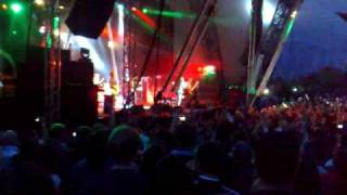 Kasabian Live at Eden Project 04/07/2009