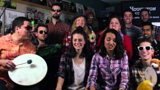 """Jimmy Fallon Roots inspired, Houghton College: """"Shut Up and Dance"""" Mashup (w/ Classroom Instruments)"""