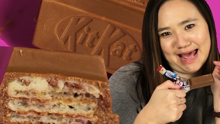 People Try The Cookie Dough Kit Kat