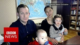 Prof Robert Kelly is back & this time his wife & children are meant to be in shot! BBC News