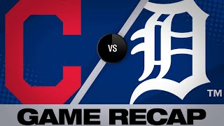 Bauers' cycle fuels Indians over Tigers | Indians-Tigers Game Highlights 6/14/19