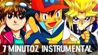 Instrumental - Ash VS. Yugi VS. Dan   Duelo de Titas (7 Minutoz)