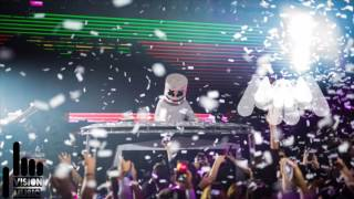 Marshmello x San Holo - Movin On Light  (Crankdat Remix) (High Quality)