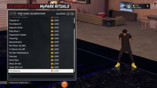 NBA 2K17 dance video (song rolex by ayo and teo)