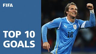 Top 10 Goals: 2010 FIFA World Cup South Africa [OFFICIAL] width=