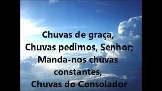 Chuvas de Graça - Hino da Harpa 01 (playback legendado)