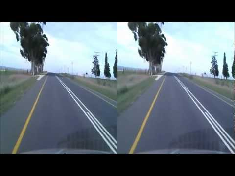 Driving in South Africa/ Short Movie/ 2012/ 3d HD