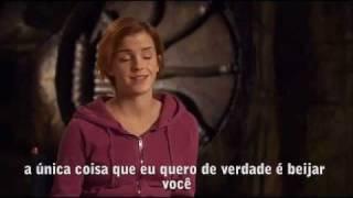 "Emma Watson confessa que Rupert Grint  ""Beija Bem"" -  A Vida Sentimental de Rony Weasley [Legendado]"