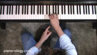 Piano-ology: Piano Technique: Finger Crossovers width=