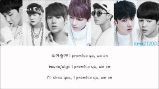 BTS (방탄소년단) - We On [Hangul/Romanization/English] Color & Picture Coded HD