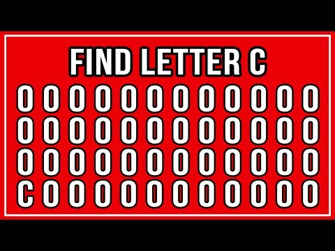 Can You Find The C In 10 Seconds?