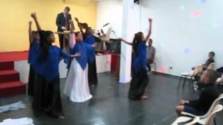 Grupo de Dança Fruto do Espirito - Ministério Sarando a Terra Ferida : O Novo de DEUS (1/2)