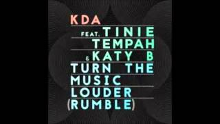 KDA feat. Tine Tempah&Katy B-Turn The Music(rumble)