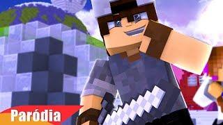 Minecraft: PARÓDIA MC LAN - OPEN THE CHEST, PEGA A ESPADA