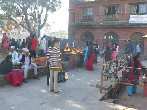 snake temple kathmandu