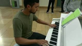 Fairy Tail Main Theme Piano Cover At Bullring Shopping Centre