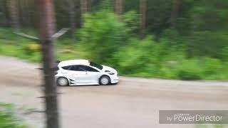 WRC FORD FIESTA/EVANS - Rally Finland secret test 09/07/2018
