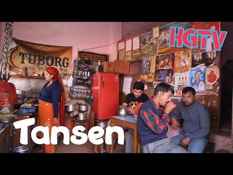 Nepal : Tansen (Palpa) in a minute