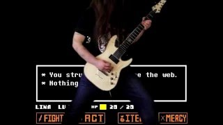 Undertale - Spider Dance (Muffet's Theme) [Guitar Cover]