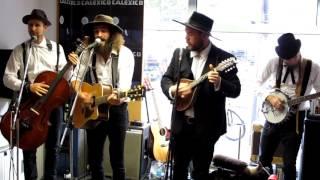 """The Dead South - Deadman's Isle - Live at """"Michelle Records"""", Hamburg"""