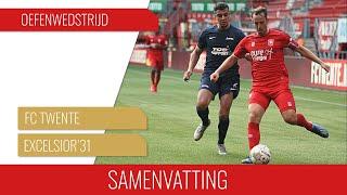 Screenshot van video Samenvatting FC Twente - Excelsior'31