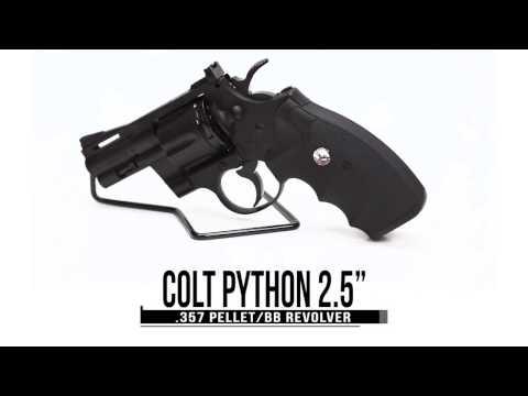 "Video: Colt Python 2.5"" .357 CO2 Pellet/BB Revolver   Pyramyd Air"