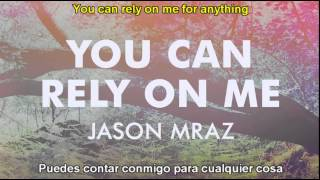 jason mraz  you can rely on me sub español ingles