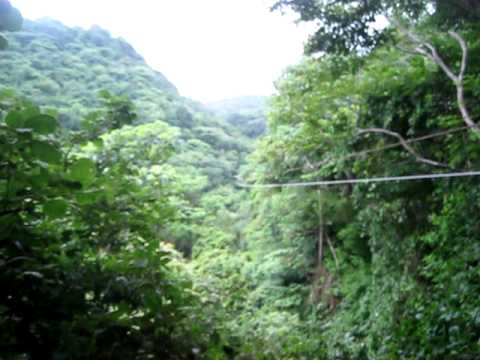 Video of Nicaragua Zip Line with American-owned NicaEco by San Juan del Sur