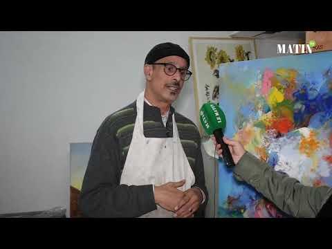 """Video : Mohammed Mansouri Idrissi, artiste plasticien :""""Pour moi, le coronavirus était un vrai catalyseur pour la créativité"""""""