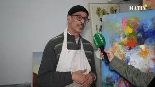 """Mohammed Mansouri Idrissi, artiste plasticien :""""Pour moi, le coronavirus était un vrai catalyseur pour la créativité"""""""