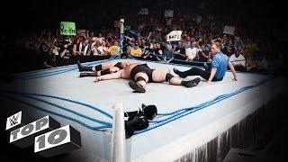 WWE Top 10 momentos de destrucción en el ring