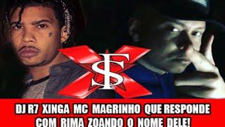 🔴  Polêmica: Dj R7 Xinga Mc Magrinho Que Responde Com Rima Zoando O Nome Dele!
