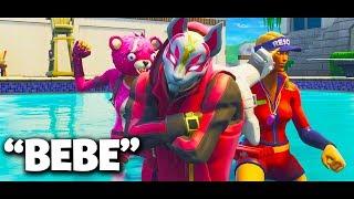 "BEBE- 6ix9ine ft. Anuel AA (Parodia) ""Scarsita"" Fortnite"