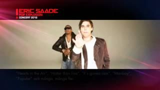 ERIC SAADE POP EXPLOSION CONCERT 2012!