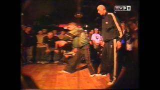 Eldo tańczy breakdance - klub Alfa 1998