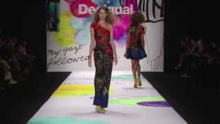 Desigual presents AW15 'YES' collection at Mercedes Benz Fashion Week  New York
