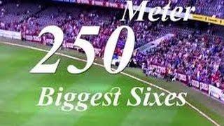 Top 10 Biggest Sixes in Cricket History 2016 width=