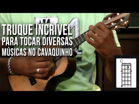DICA SENSACIONAL PARA TOCAR DIVERSAS MÚSICAS NO CAVAQUINHO
