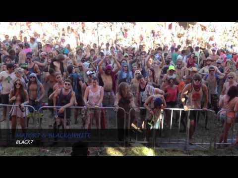 MAJOR7 @ Rezonance Festival Capetown NYE 2013, South Africa