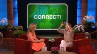 Ellen's New Game, 'Heads Up!'