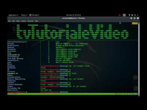 Tutoriale Video BusyBox -20- despre syslogd,tac, tail, tar, taskset, tee, telnet si test