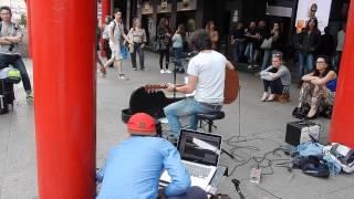 Rewind - Manuele Colamedici - I Scream art project recording @Piazzale Cadorna, Milano.