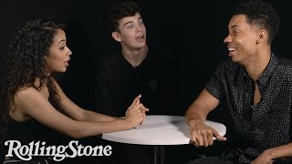 Hulu's Freakish Roundtable:  Liza Koshy, Hayes Grier, Melvin Gregg