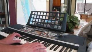 Love Theme Dusk played on keyboard