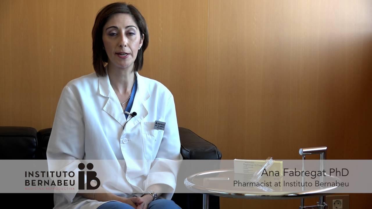 Orgalutran®: Medication preparation and administration.