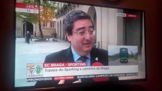 SIC Notícias - Casa do Benfica na Covilhã