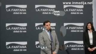 La Fantana otvaranje nove linije - Mitrovo Polje 26.10.2016.