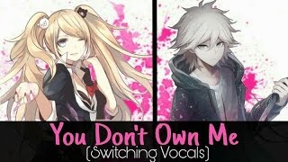 Nightcore - You Don't Own Me (Switching Vocals)