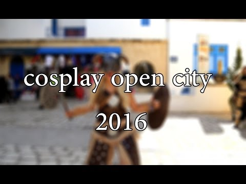Cosplay Open City 2016